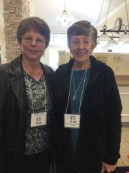 Gayle Able Schnellinger and Shirley Young, sister in law