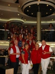 Group picture in Lobby on Ship..just was not enough room for us all but what a fun group....let's do it again sometime